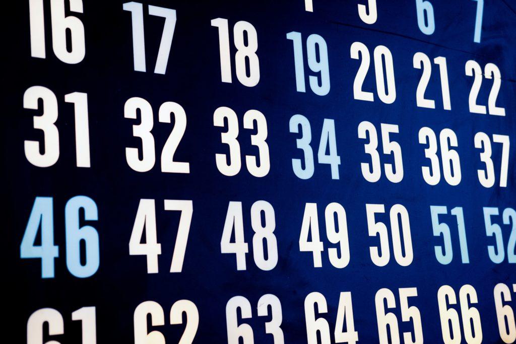 Nummer för bingo