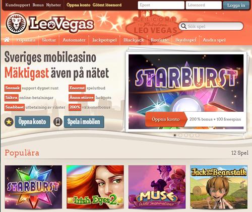 Leo Vegas Online
